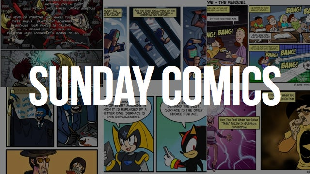 Sunday Comics: Honoris Causa