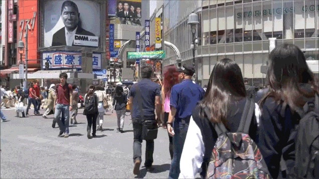 Experience a First-Person Walk Through Tokyo