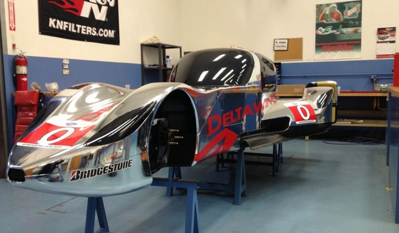 Here Is The DeltaWing Coupe