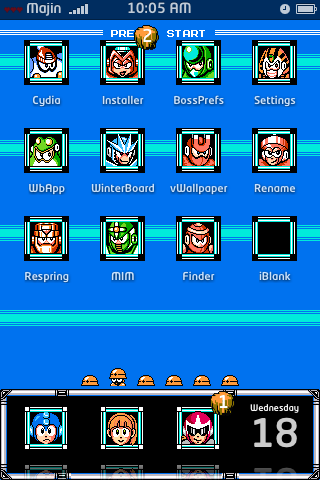 Amazing Retro Megaman iPhone Theme Is Why Apple Should Allow Skinning
