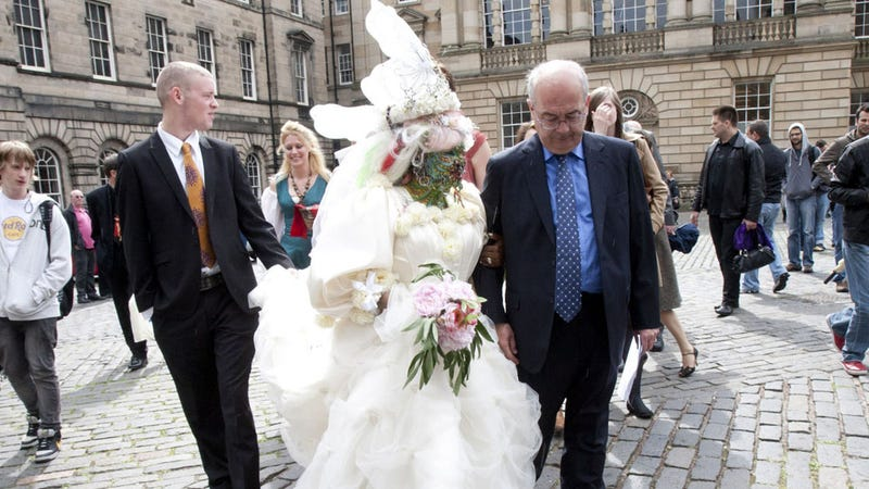 The World's Most Pierced Woman Married the World's Most Boring Man