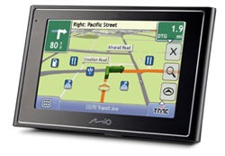 Mio Moov Provides GPS, Only GPS