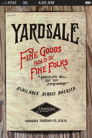 Yardsale Gallery