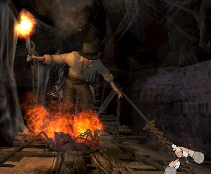 Indiana Jones & The Staff Of Kings Gameplay Footage