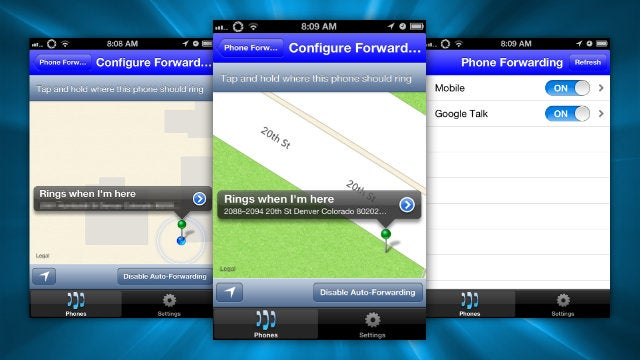 SmarterVoice Routes Google Voice Calls Depending on Your Location