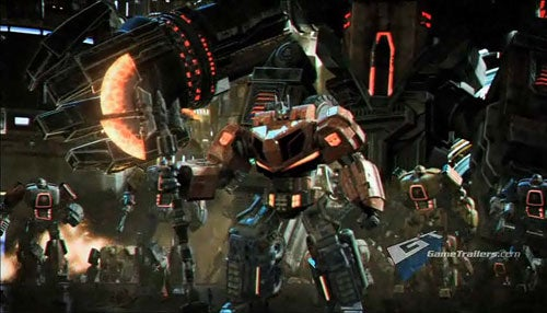 Transformers: War For Cybertron Debut Trailer
