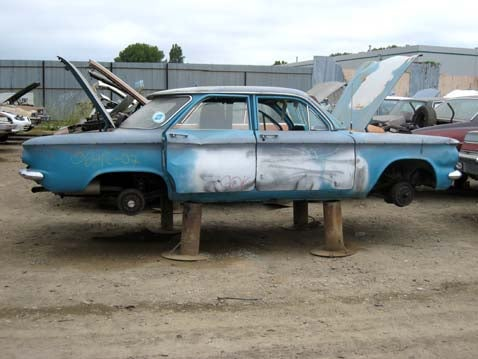 To Dust We Return: 1960 Chevrolet Corvair