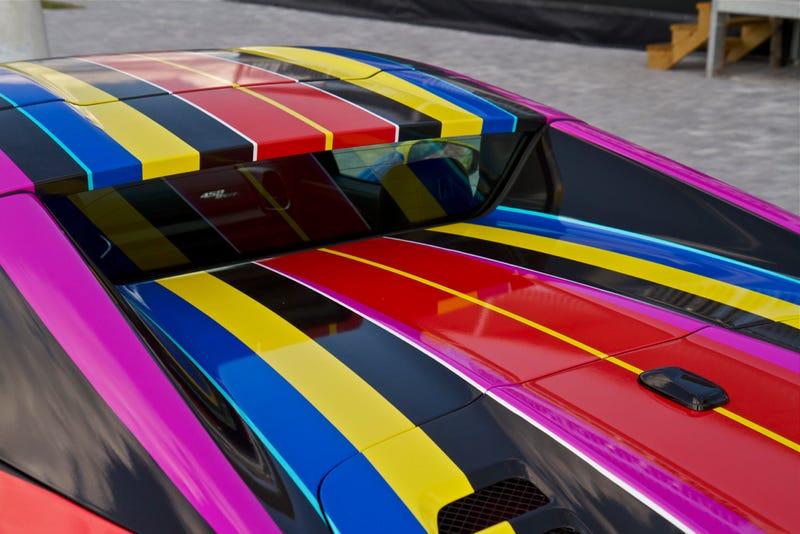 I actually dig this crazy Duaiv designed Ferrari 458 Spider (Wrap)
