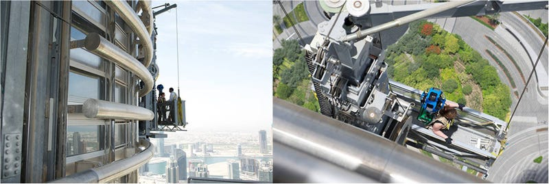 Ya puedes subir al edificio más alto del mundo con Google Street View