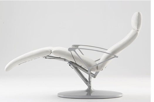Relaxation Chair: Back Bliss Machined from Aluminum
