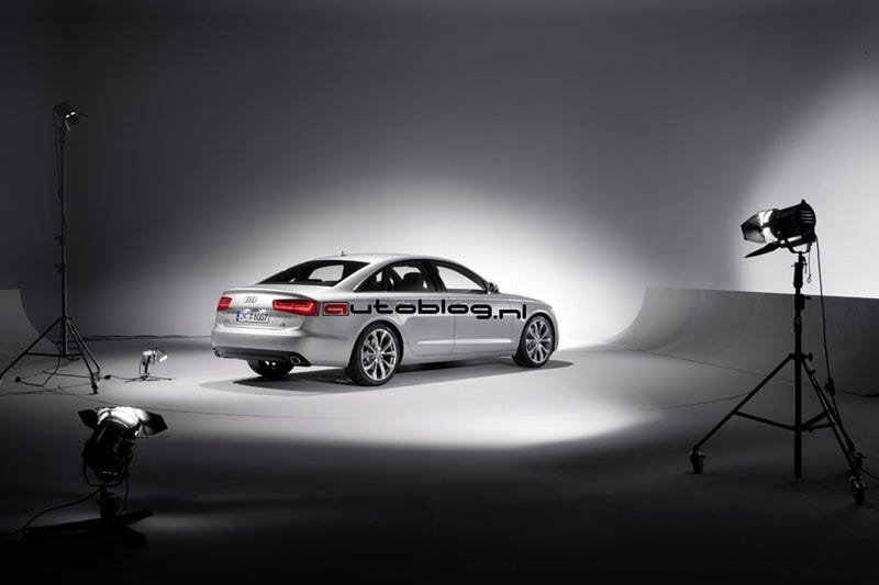2012 Audi A6: First Photos