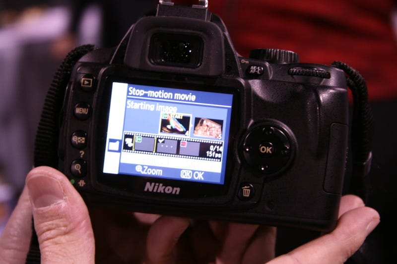 Hands On Nikon D60 With Stop-Motion Movie Walkthrough
