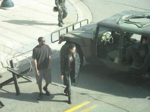 Red Dawn 2: Production Photos
