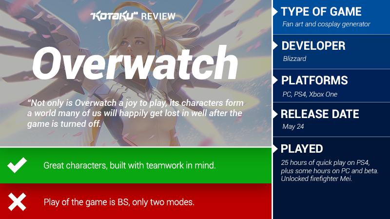 Overwatch: The Kotaku Review