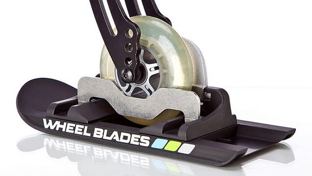 Tiny Skis for Wheelchairs Tackle Snow With Ease