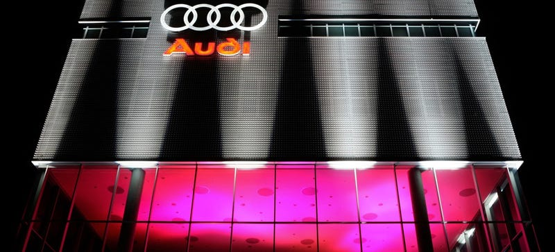 Nothing Like An Audi Party With Exactly The Right Amount Of Lumens