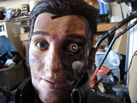 The Elvinator: One Man's Quest to Merge Singing Elvis Robot with Terminator Killing Machine