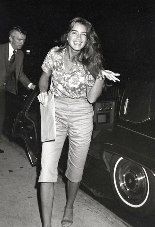 Flashback: Pretty Baby Brooke Shields Is All Shrugs And Smiles