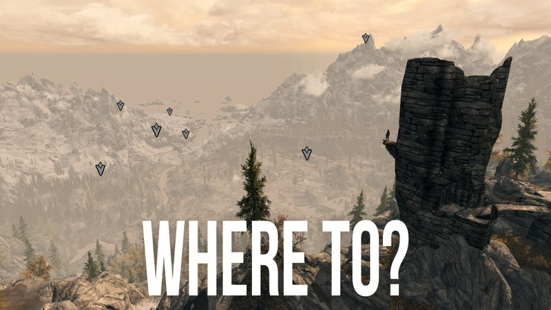 Skyrim and the Compass to Nowhere