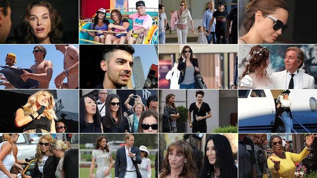 The Week in Celebrity Snapshots