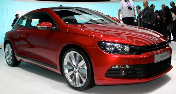 Volkswagen Scirocco, Live And In The Flesh
