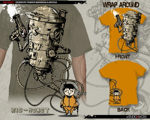 Every Boy Needs a Killer Tentacled Robot (Tee)