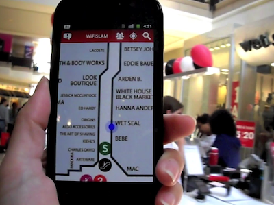 New Wi-Fi Technology Keeps You from Getting Lost in the Mall