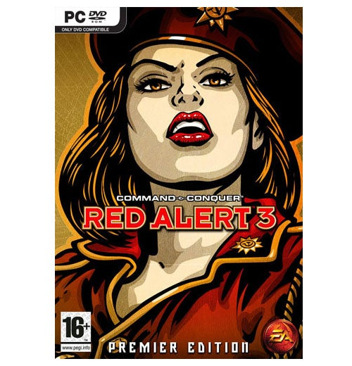 Here's Your Red Alert 3 Collectors Edition
