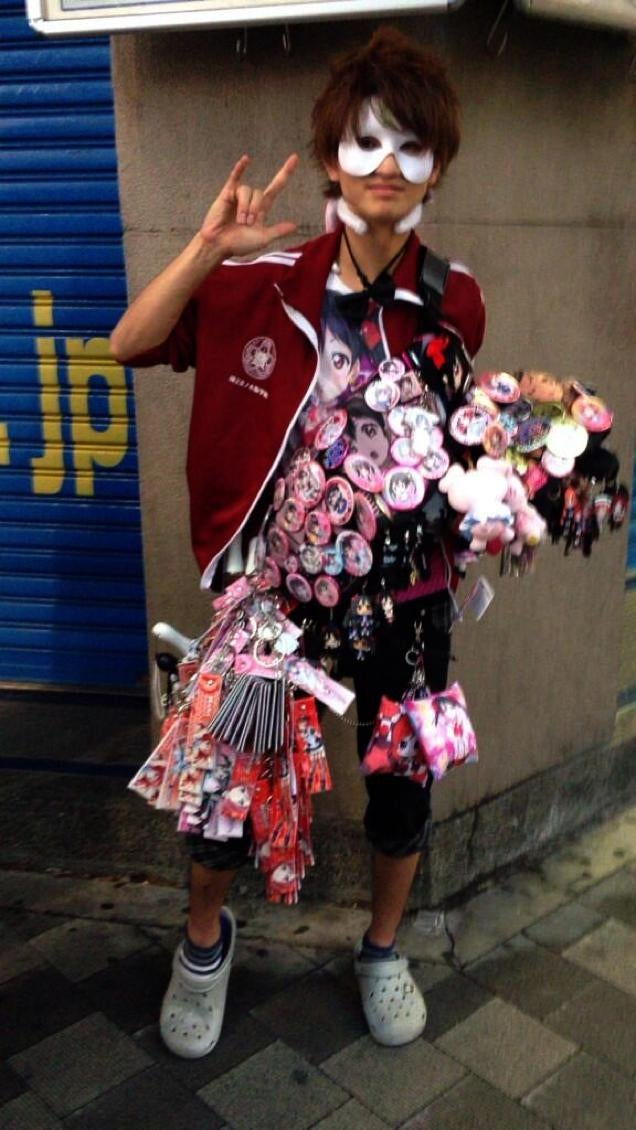 Behold, Hardcore Anime Fashion