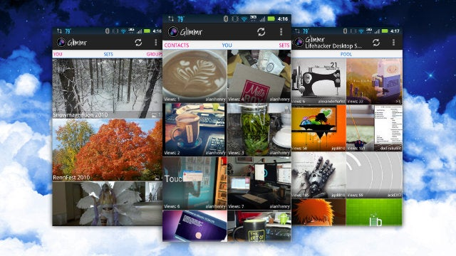 Glimmr for Android Makes Browsing Flickr on Your Phone Fun Again