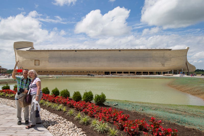 Barge-Size Noah's Ark Is a Creationist's Wet Dream