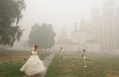 A Nice Day For A White Wedding...Or Not
