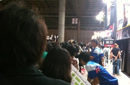 Adventures In TGS Line-Waiting