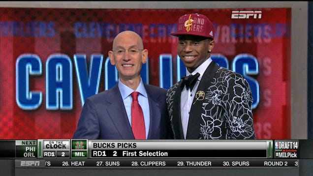 Cleveland Cavaliers Take Andrew Wiggins First Overall