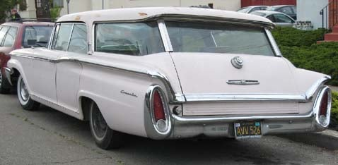 1960 Mercury Commuter Station Wagon, With Bonus Wagon Poll