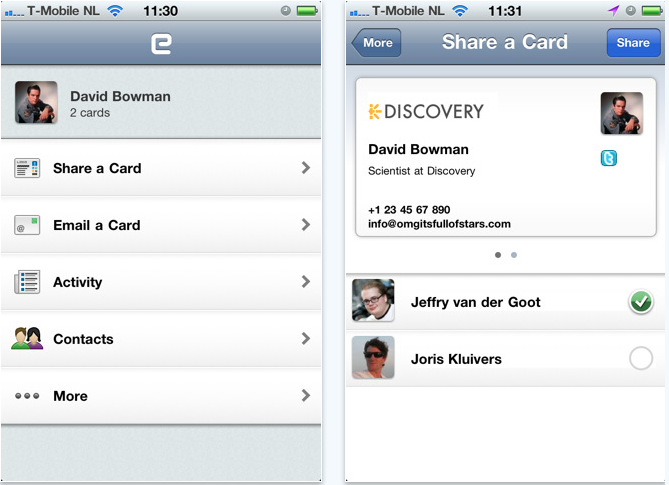 Get The Contact Details For Everyone In The Room With This iPhone App