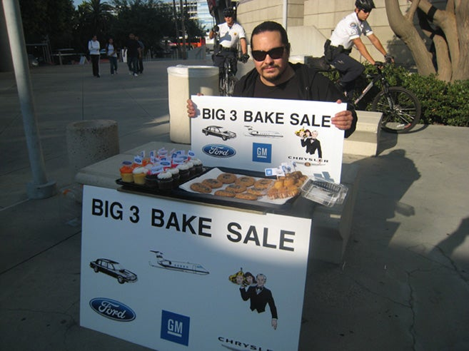 Not-So-Big Three Bake Sale Raises Enough To Fund CEO Salaries