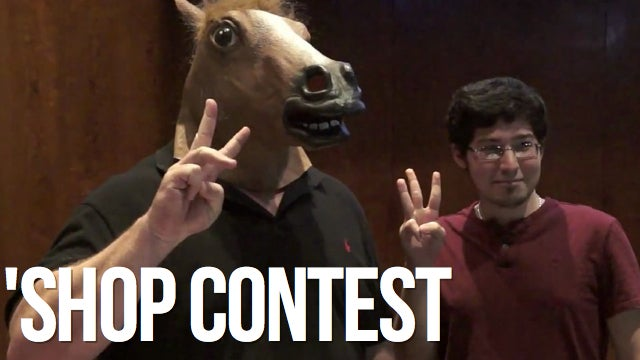 Kotaku 'Shop Contest: Horsing Around With Gabe