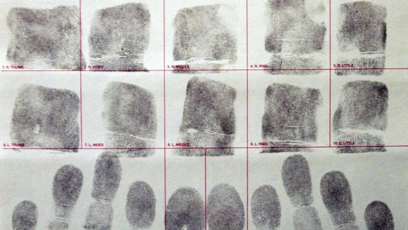 Fraud Suspect Uses Stolen Credit Card for Court-Ordered Print Test