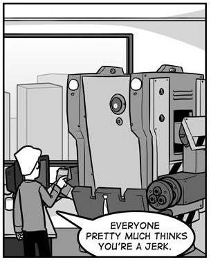 The Most Depressing Robot Comic You'll Read All Day