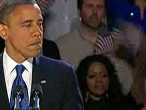 Obama's Victory Speech (Feat. Flag Head Lady): America, You Better Work