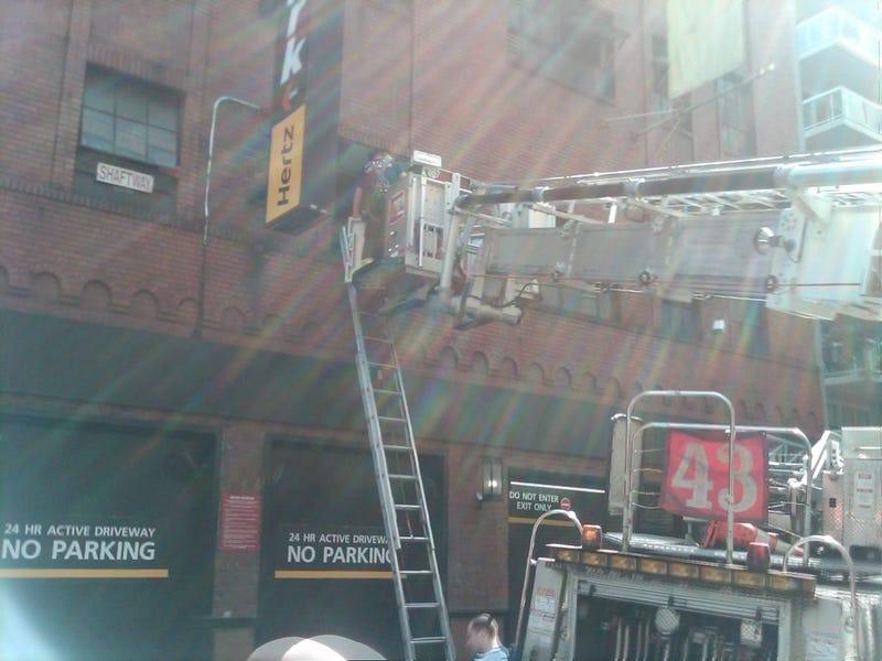 Manhattan Elevator Crash Pictures