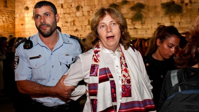 Women Arrested at Western Wall For Refusing To Remove Prayer Shawls
