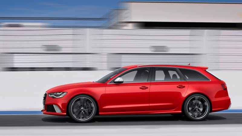 The Audi RS6 Avant: Aluminum Und Holy Hell