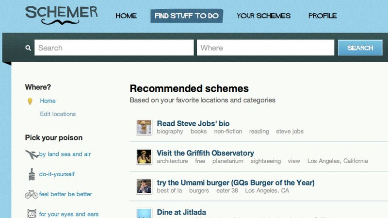 Schemer Is Google's New Tool for Finding Something Great to Do (and We've Got Invites)