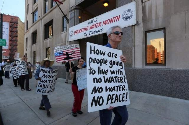 Tapped out: the fight over public water in Detroit.