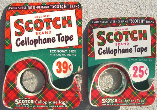 Happy 80th Birthday to Scotch Tape—Savior of the Klutzes