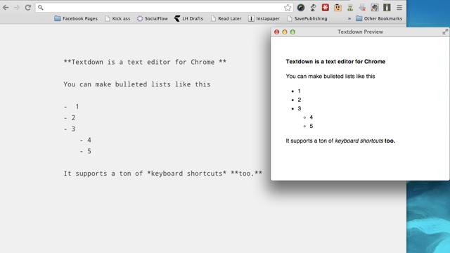 Textdown is a Powerful Markdown Text Editor that Runs in a Browser Tab