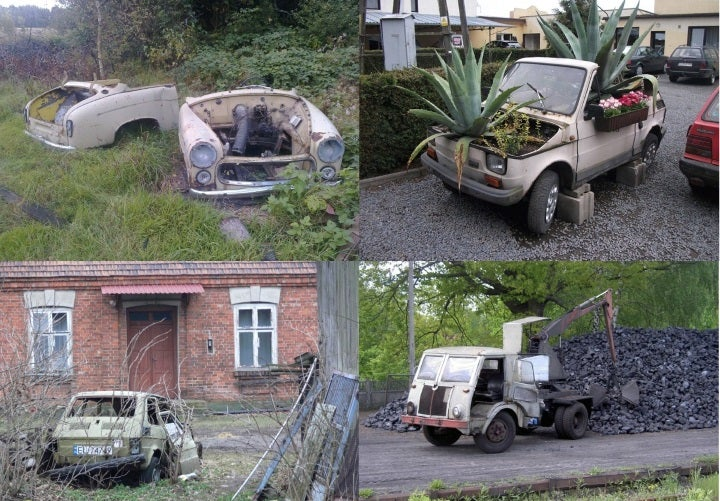 Polish Cars Living and Dying in Poland