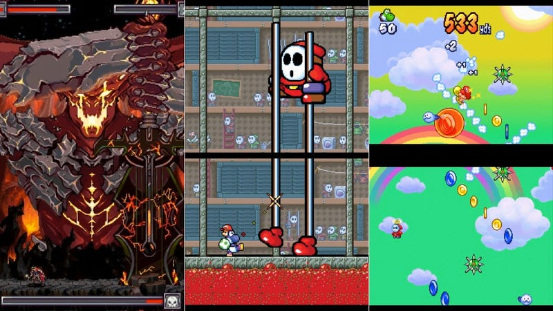 The Forgotten Beauty Of Vertical DS Games, The Spectacle Of Widescreen Turned Sideways